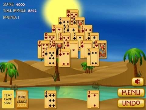 Pyramid Solitaire Egyiptom