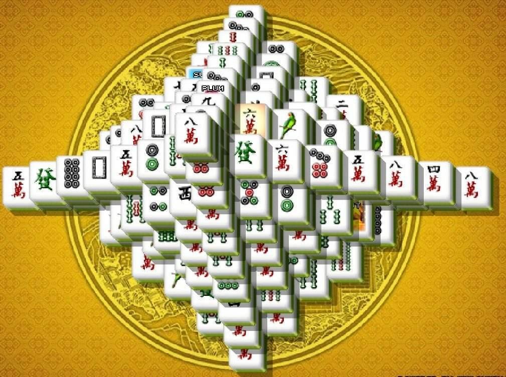 mahjong-torony jatek